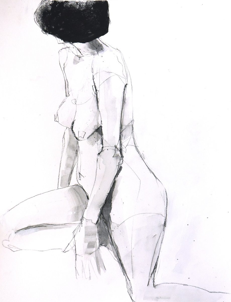 Figure 12 - Charcoal and acrylic on paper