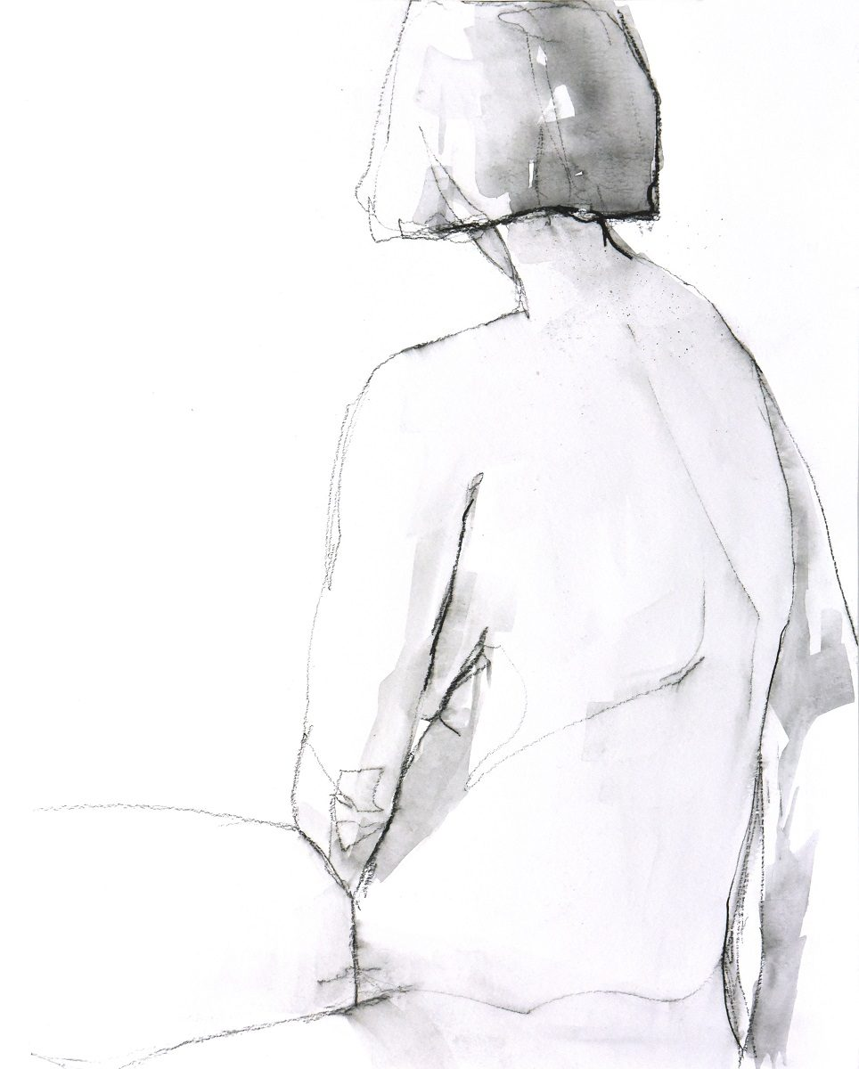 Figure 13 - Charcoal on paper