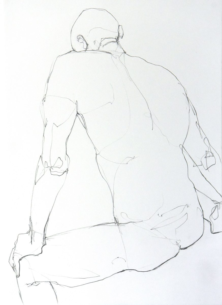Figure 4 - Graphite on paper