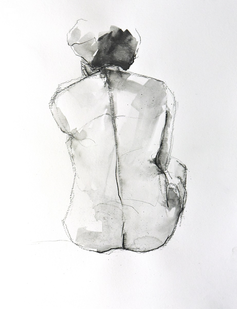 Figure 7 - Charcoal on paper