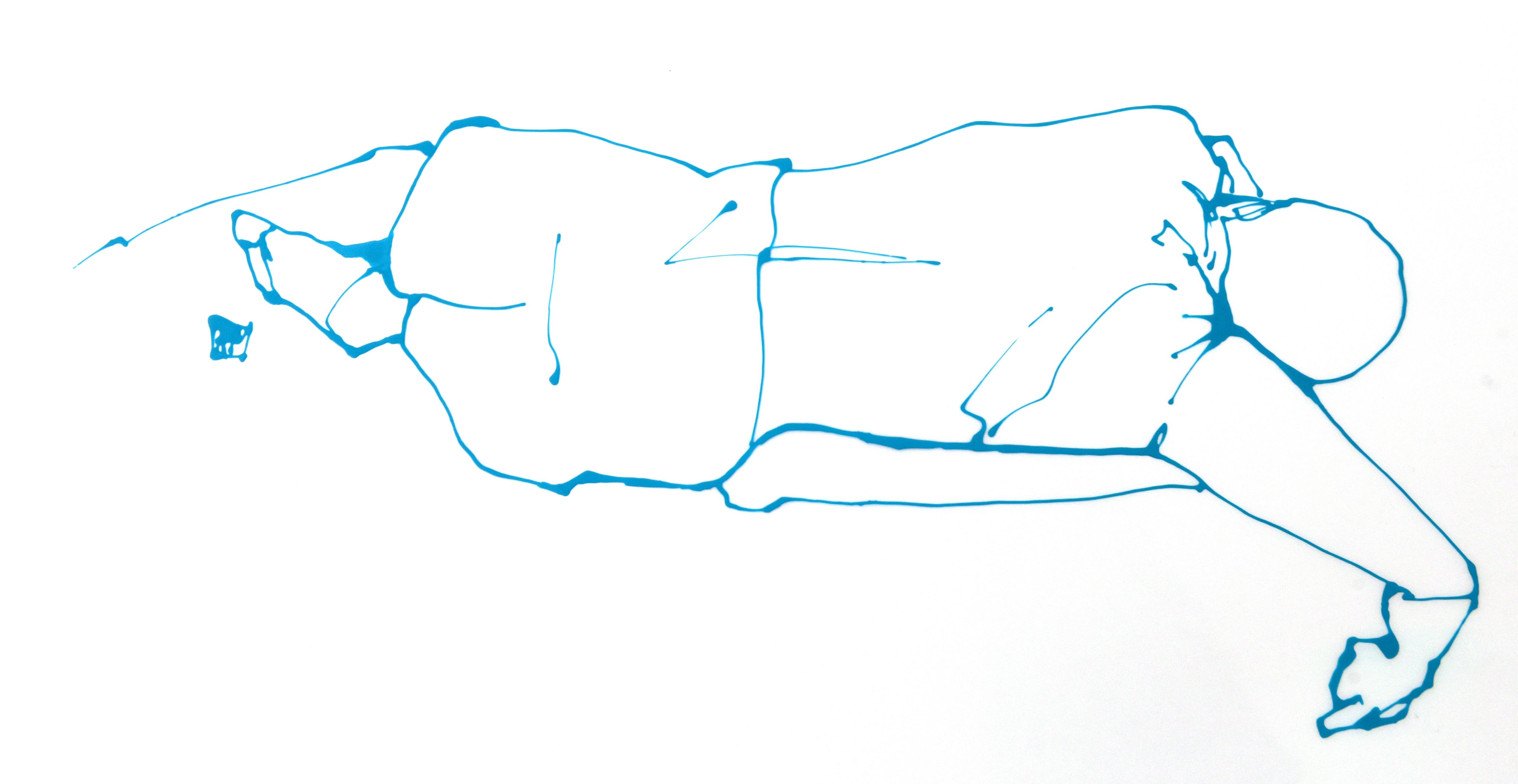 Sprawl (Liquid acrylic on Mylar)