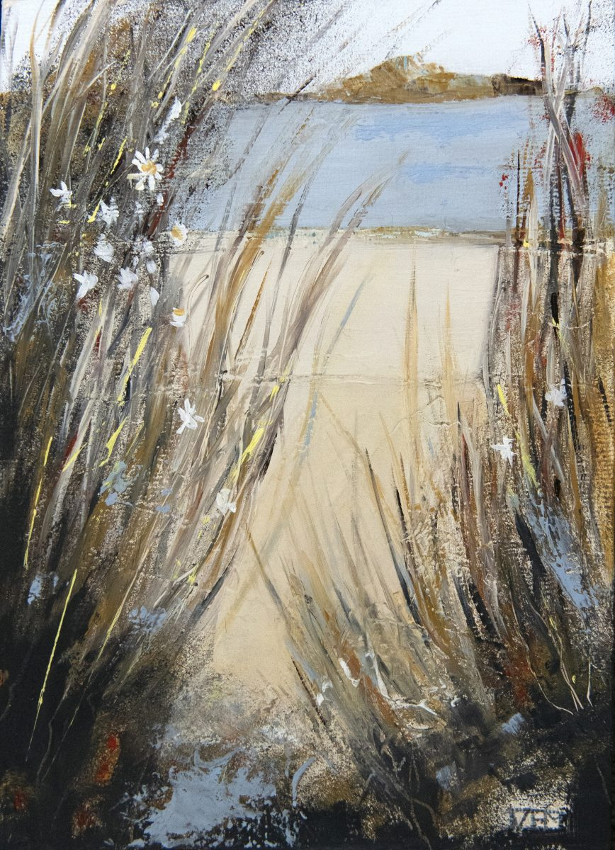 Rushes (oil on board)